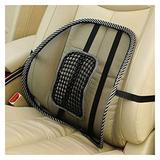 KASILU Car Seat Chair Back Cushion Mesh Lumbar Back Brace Car Seat Chair Cushion Massage Back Cushion Pad Support Home Office Easy Installation