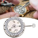 【𝐄𝐚𝐬𝐭𝐞𝐫 𝐏𝐫𝐨𝐦𝐨𝐭𝐢𝐨𝐧】 Mechanical Watch Movement, Watch Movement, Stainless Steel Automatic Watch Movement White High Accuracy Parts for Watchmakers Watch Replacement