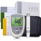 WCCCY 3 in 1 Cholesterol Tester, Uric Acid Test Strips Cholesterol Test Strips Home Test Strip Test Meter Kit Blood Multi-Function Tester Meter (Color : Monitor 3in1 Strips)