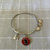 Disney Jewelry   Alex & Ani Mickey Mouse Bracelet   Color: Red/Silver   Size: Os