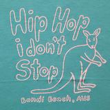 American Eagle Outfitters Tops   American Eagle Hip Hop I Don'T Stop Graphic Tee   Color: Blue/Pink   Size: Xs
