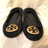 Tory Burch Shoes | Navy Suede Flat | Color: Blue | Size: 7