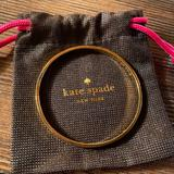 Kate Spade Jewelry | Kate Spade New York - Heart Of Gold Bangle | Color: Gold | Size: Os