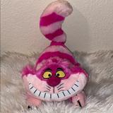 Disney Toys   Cheshire Cat Plush Disney Plush Alice In Wonderlan   Color: Pink   Size: Os
