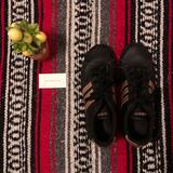 Adidas Shoes | Adidas Black And Gold Sneakers Size 8 | Color: Black/Gold | Size: 8