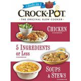 Crockpot-The Original Slow Cooker (3 Books in 1)