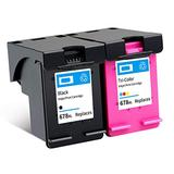 Remanufactured Ink Cartridge Replacement for HP 678XL High Yield Compatible With Deskjet Ink Advantage 1518 2515 2548 2648 3548 4518 Printer 1 Black 1 Tri-Color 1 Black 1 Tri-Color