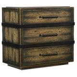 Hooker Furniture Crafted Three Drawer Nightstand