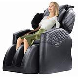 Gliub New 16 Airbags Full Body and Recliner Massage Chairs, Zero Gravity Air Massage Chair, Foot Rollers/Seat Vibration/Lower Back Heating, Electric Shiatsu Massage Chair Home/Office