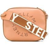 Perforated Logo Shoulder Bag - Brown - Stella McCartney Shoulder Bags