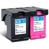 Remanufactured Ink Cartridge Replacement for HP 307XL High Yield Compatible With ENVY 6010 6020 6030 ENVY Pro 6420 6430 Printer 1 Black 1 Tri-Color 1 Black 1 Tri-Color