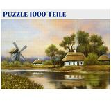 Puzzles for Adults 1000 Piece Jigsaw Puzzles 1000 Pieces for Adults Large Puzzle Game Toys Gift Mystery Large Pieces Panoramic 70cm x 50cm -5