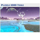 Puzzles-for-Adults-1000-Piece-Jigsaw-Puzzles 1000 Pieces for Adults Large Puzzle Game Toys Gift Mystery Large Pieces Panoramic 70cm x 50cm -1