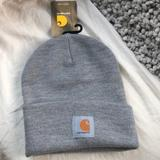 Carhartt Accessories | Grey Fashion Carhartt Watch Cap Beanie Hat *New* | Color: Gray | Size: Os