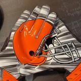 Nike Other | Mens Nike Superbad 3 Football Gloves Sz Xl | Color: Brown/Orange | Size: Xl