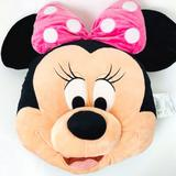 Disney Other | Disney Minnie Mouse Pillow. Size 16in Like New. | Color: Black/Pink | Size: Osg