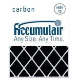 Accumulair Carbon Merv 8 Air Filter in Black, Size 30.0 H x 36.0 W in   Wayfair FO25X32X1A_4