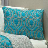 House of Hampton® Marralynn Sham 100% Cotton in Blue, Size 26.0 H x 20.0 W in   Wayfair BNRS1843 34643253