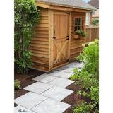 Cedarshed Solid Wood Lean-To Storage Shed in Brown, Size 92.5 H x 109.5 W x 42.0 D in   Wayfair 738265