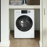 GE Appliances 2.4 Cu. Ft. Front Load Washer & 2.4 Cu. Ft. Electric Dryer in White   Wayfair GFQ14ESSNWW