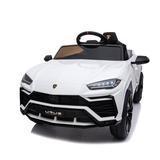 Bellupai Lamborghini Children Ride on Car Plastic in White, Size 20.47 H x 25.59 W x 41.34 D in   Wayfair ORW42215466