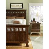 MacKenzie-Dow Panel Headboard Wood in Brown/Red, Size 65.0 H x 71.0 W x 6.0 D in   Wayfair 6-3300HB_Malt