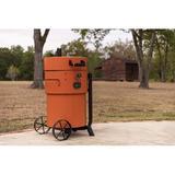 Oklahoma Joe's Charcoal Smoker Steel in Orange, Size 48.0 H x 40.0 W x 28.75 D in | Wayfair 19202100
