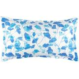 Pine Cone Hill Gingko 100% Cotton Envelope Sham 100% Cotton in Blue/White, Size 20.0 H x 26.0 W x 0.1 D in | Wayfair PC2747-SHS