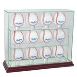 Perfect Cases and Frames Twelve Baseball Upright Display Case, Size 12.0 H x 14.0 W x 4.0 D in | Wayfair 12UPBSB-C