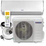 Pioneer Energy Star Ductless Mini Split Air Conditioner w/ Heater & Remote Metal, Size 40.0 H x 40.0 W x 15.0 D in   Wayfair WYS018GMFI19RL-16