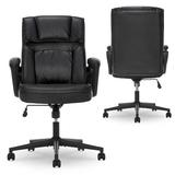 Serta at Home Style Hannah I Executive Chair Upholstered in Brown, Size 43.0 H x 26.75 W x 30.0 D in | Wayfair 43670G