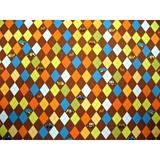 Sheetworld Argyle Transport Fitted Cradle Sheet 100% Cotton in Brown | Wayfair CR-W885