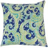 The Pillow Collection Fiachra Paisley Bedding Sham Cotton Blend in Blue, Size 26.0 H x 20.0 W x 5.0 D in   Wayfair STD-D-72084-BLUETURQUOISE-C95L5