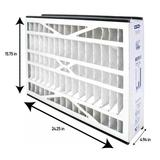 Trion MERV 13 Air Purifier Filter in White, Size 16.0 H x 25.0 W x 5.0 D in | Wayfair 266649-105