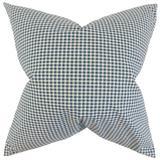Gracie Oaks Will Plaid Bedding Sham 100% Cotton in Blue, Size 26.0 H x 20.0 W x 5.0 D in   Wayfair D5831644B2064924965C7C16B62E73C4