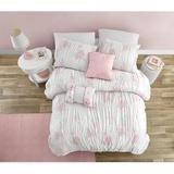 Harriet Bee Falkville Smocked 5 Piece Toddler Bedding Set Polyester in Pink, Size Twin Comforter + 4 Additional Pieces   Wayfair