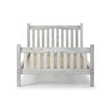 Sand & Stable™ Baby & Kids Barbara Platform Bed Wood in Gray/White, Size 58.0 W x 80.0 D in | Wayfair 1EBA479167324331BF7C87772C619555
