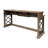 Kelly Clarkson Home Emily Everywhere Console TableWood in Brown, Size 36.0 H x 77.0 W x 21.0 D in | Wayfair D4082096762A435D9918A526886EA8E4