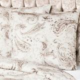 Canora Grey Aubriana 300 Thread Count Paisley Egyptian Certified Cotton Sateen Pillowcase 100% cotton/100% Egyptian-Quality Cotton/Cotton/100% Cotton Sateen/100% Cotton