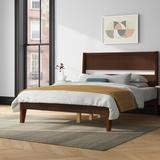 Mercury Row® Brummitt Queen Solid Wood Platform Bed Wood in Brown, Size 64.0 W x 83.5 D in   Wayfair DBDCBF0D28E448068DC857BB444151EA