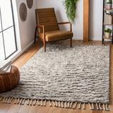Dakota Fields Runner Aitkin Hand- Loomed Wool Gray Area Rug Wool in Brown/Gray, Size 27.0 W x 1.3 D in | Wayfair 87DAD04247874E0C9DF5E435AF1DAEB0