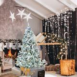 The Holiday Aisle® White Pine Artificial Christmas Tree in Black, Size 71.0 H x 35.0 W in | Wayfair A46CEBE9E3324A0FB202ED1005696166