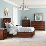 Winston Porter Beagan Platform 5 Piece Bedroom Set Wood in Brown, Size Queen | Wayfair 66809C66D4D448C4B916FA0BDAF6F8B5