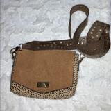 Free People Bags | Free People Stella Suede Crossbody | Color: Brown/Tan | Size: Small