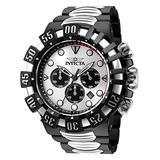Invicta Men's Excursion Quartz Watch with Stainless Steel Strap, Silver, Black, 31.3 (Model: 32374)