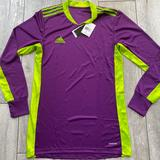 Adidas Shirts   Adidas Goaltender Soccer Jersey Shirt   Color: Purple   Size: S