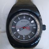 Gucci Accessories | New Men'S Guccisync Stainless Steel Rubber Watch | Color: Gray/Silver | Size: 46mm (1.75)