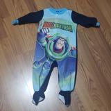 Disney Pajamas | Baby Boy 12m Buzz Lightyear Footies Pajamas Pjs | Color: Blue/Green | Size: 12mb