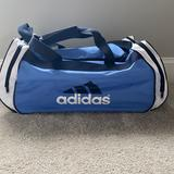 Adidas Bags | Large Adidas Sports Bag | Color: Blue | Size: Os