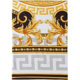 Black & Gold Medusa Duvet Cover, Queen - Metallic - Versace Scarves